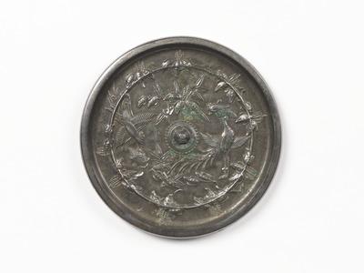 桐竹鳳凰鏡