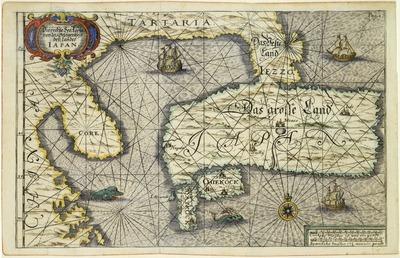 日本の位置に関する正しい海図