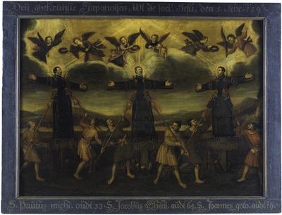 殉教三聖人図