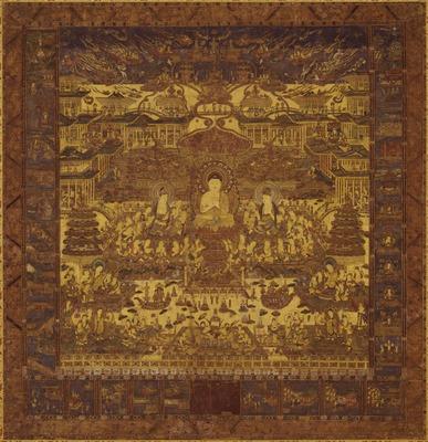 浄土曼荼羅図