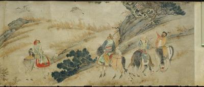 韃靼人狩猟図巻
