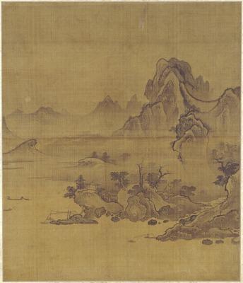瀟湘八景図屏風