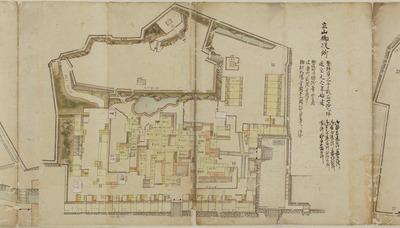 長崎諸役所絵図
